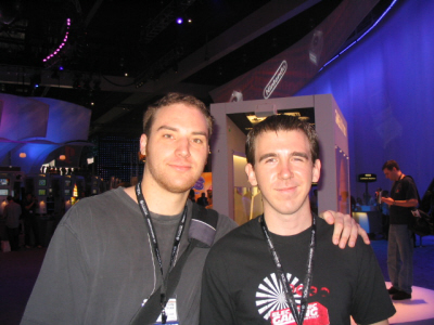 E3 2005: Bryan Intihar and Paul Gale Network from 1up.com and Electronic Gaming Monthly