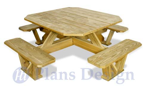 Genial How To Build The Square Picnic Table, Design # ODF03
